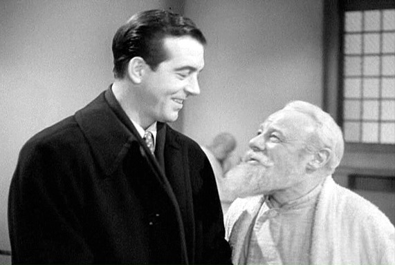 """I said Calvin Coolidge was the first president, I can imagine what they think of me for saying that..."" Edmund Gwenn as Kris to Mr. Gailey, played by John Payne. One can imagine Cal chuckling at that line."
