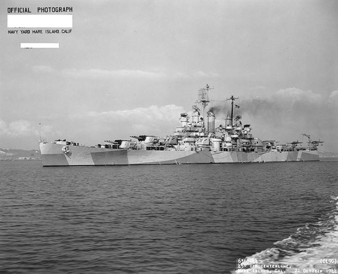 USS Astoria CL-34