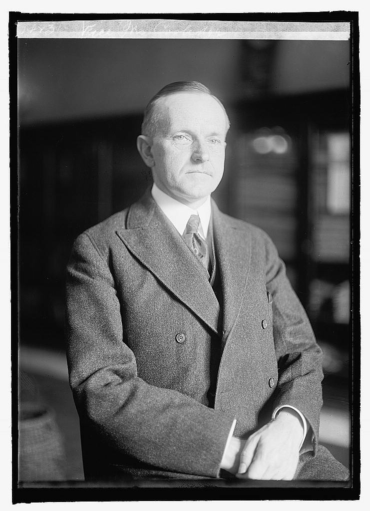 21835v Vice President Coolidge 1921