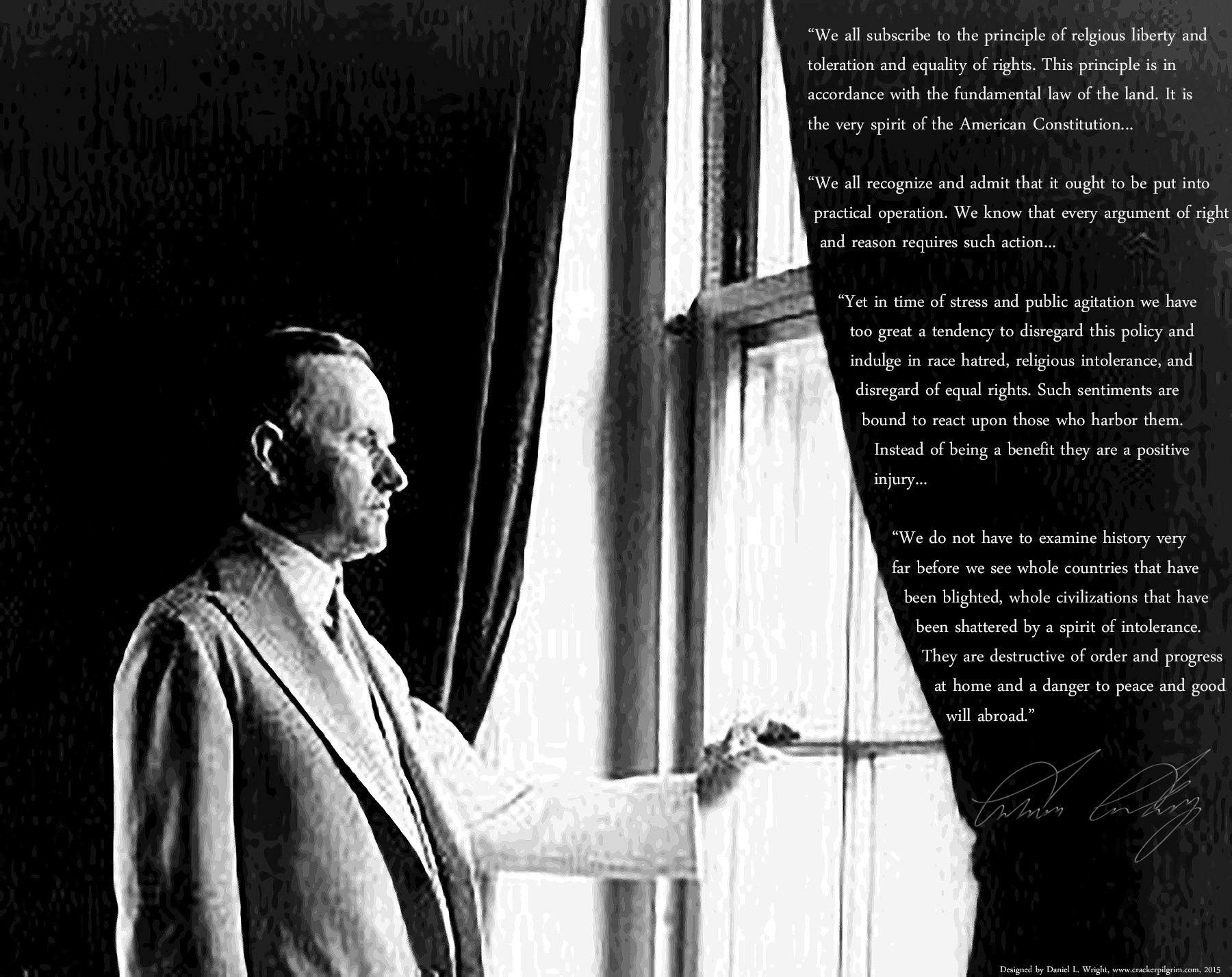 Calvin-Coolidge-full-length-portrait-standing-at-window-facing...-painting-artwork-print - Copy