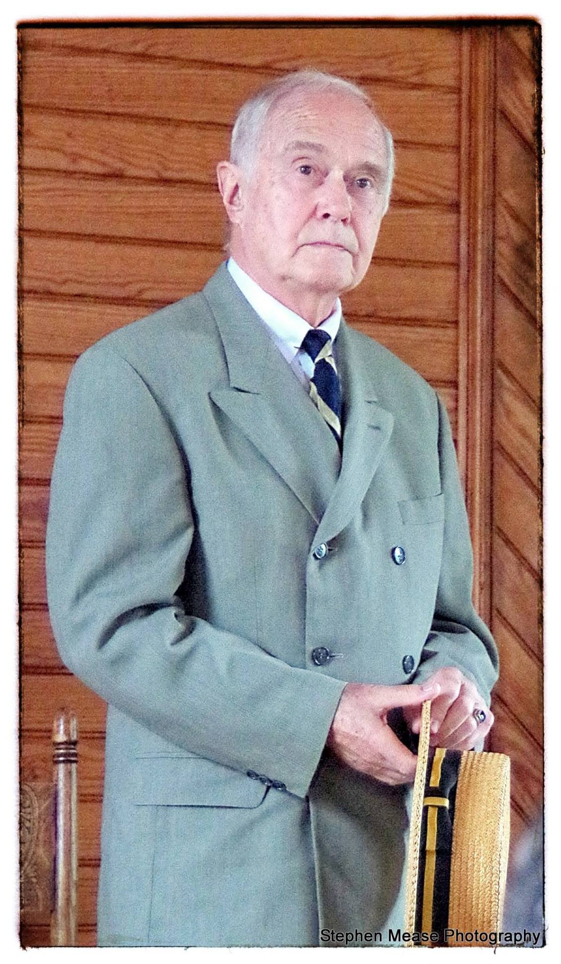 Mr. Jim Cooke as President Coolidge, July 4, 2015