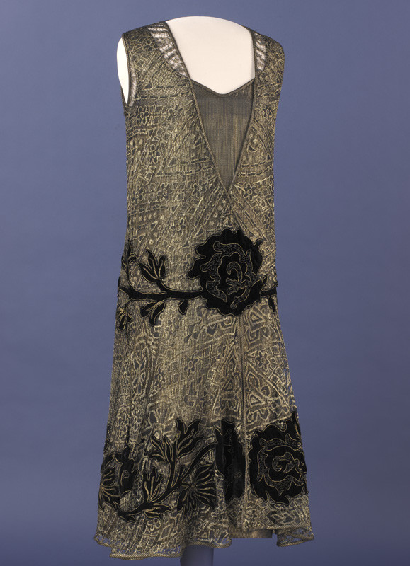 One of Mrs. Coolidge's gowns in the Smithsonian collection.