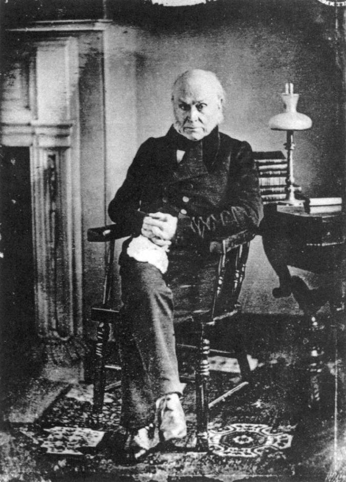 John Quincy Adams, 1843