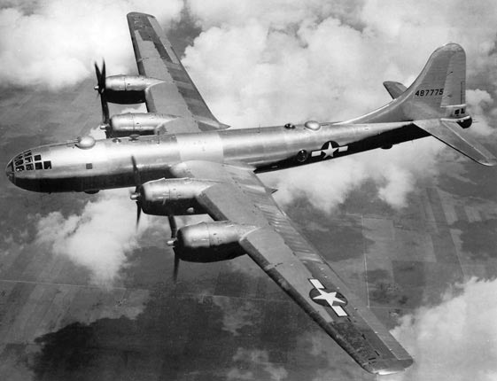 "The Boeing B-29 ""Superfortress"""