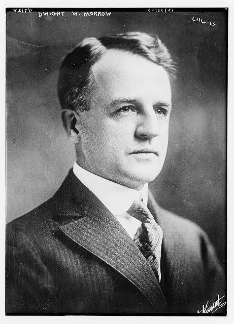 Dwight W. Morrow. Courtesy of the Library of Congress.