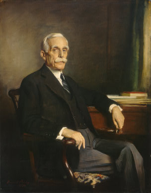 Andrew W. Mellon, Secretary of the Treasury throughout the Coolidge years