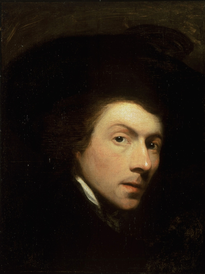 Gilbert Stuart, Self-portrait, was the artist best known for giving us the depictions of Washington and many of his generation.
