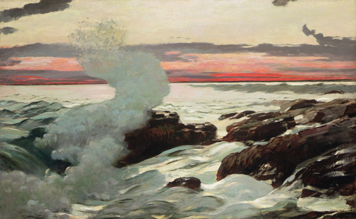 Winslow Homer' West Point - Prout's Neck (1900)