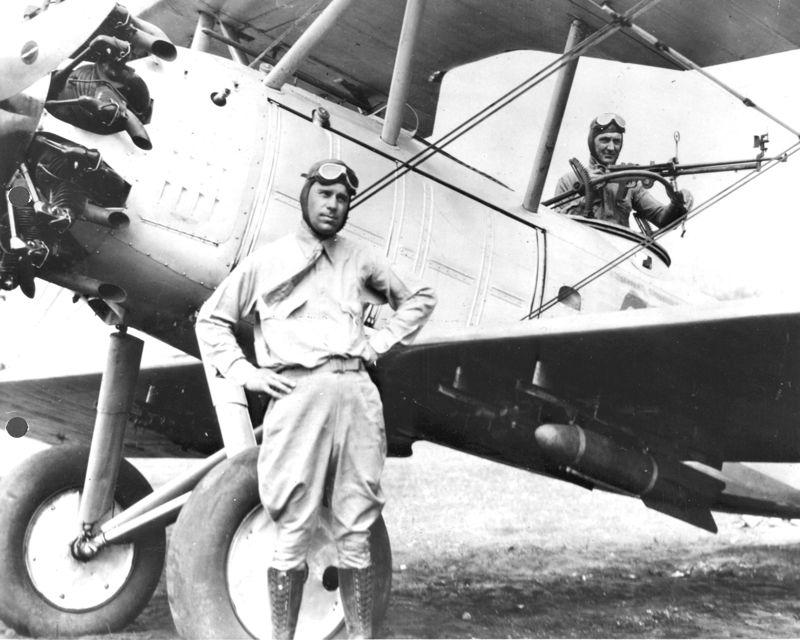 "First Lieutenant Schilt, with his Vought O2U-1 Corsair volunteered to rescue the Marines cut off by ambushing forces at Quilali, Nicaragua. On January 6, 7, and 8, 1928, Schilt volunteered and flew 10 missions to rescue wounded Marines and bring vital supplies to those on the ground. Landing on the road, he quickly unloaded the supplies and rescued 18 Marines, saving 3 lives, all under heavy enemy fire. As his citation reads: ""Lieutenant Schilt...succeeded in accomplishing his mission."" Coolidge recognizes his conduct here."
