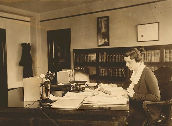 Mabel Willebrandt in office