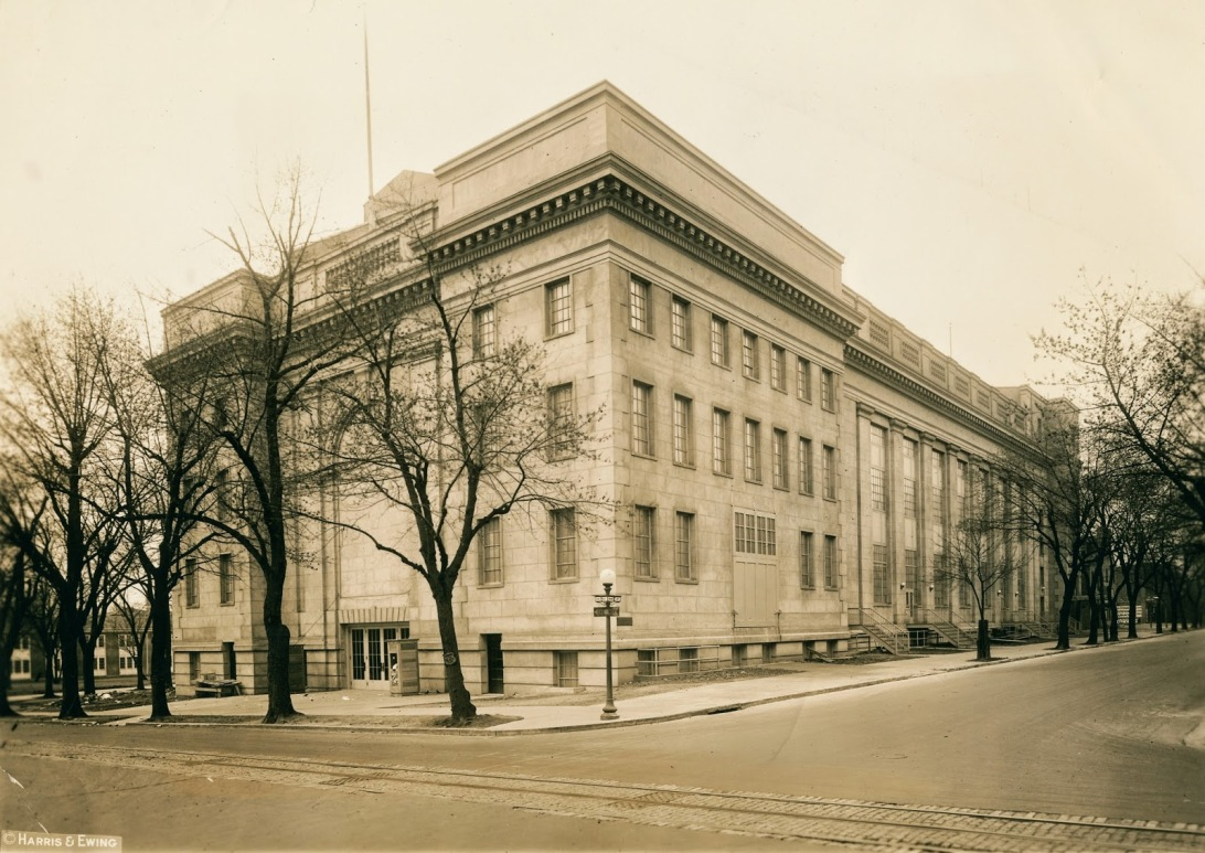 Washington Auditorium, 1926, two years before Coolidge's speech marking the tenth anniversary of the Armistice.