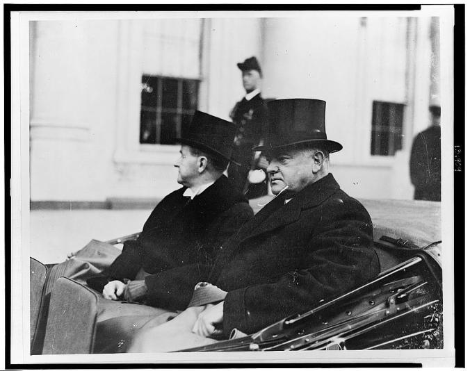 CC last look at the White House March 1929