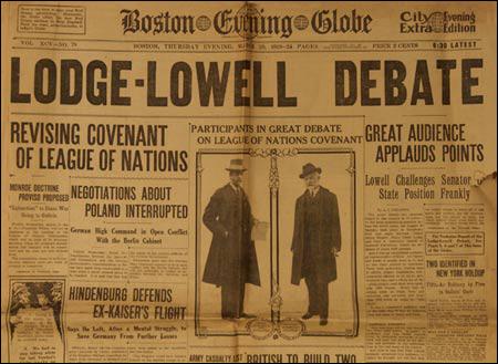 Lodge-Lowell Debate