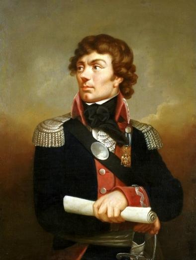 Portrait of Tadeusz Kosciuszko by Karl Gottlieb Schwei