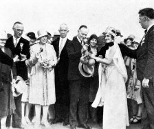 Calvin Coolidge Attends Orange Festival at Winter Haven
