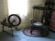 One of the striking things about the homes at Plymouth are the original furnishings belonging to the Coolidge family, carefully preserved on site.