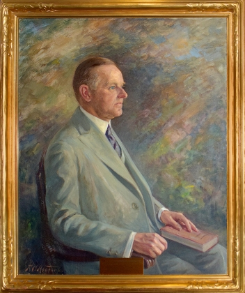"""President Calvin Coolidge"" (Photo credit: frankashford.com)"