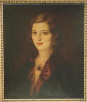Portrait of Pola Negri by Josef Sigall