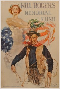 howard-chandler-christy-will-rogers-memorial-fund-lithograph-poster