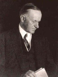 doris-ulmann-portrait-of-president-calvin-coolidge-[and]-------variant-portrait-of-coolidge-[ca -1924]