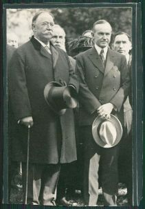 Taft and Coolidge together again. They would enter 1929 as the only two surviving members of the unofficial Ex-President's Club. Unfortunately, Taft would depart in 1931 and Coolidge in 1933.