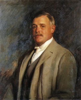 Albert Hayden Chatfield, 1905. The president of Chatfield Paper Company.