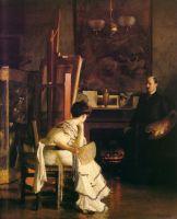 In the Studio, 1905.