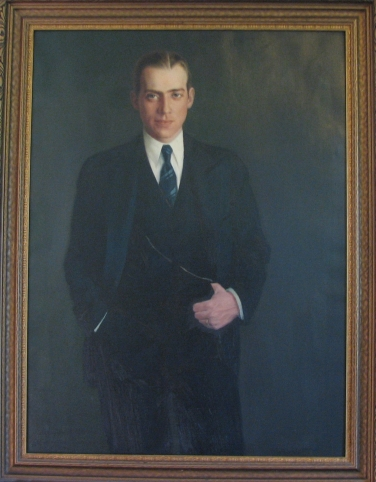 John Coolidge, 1931. On display at the Calvin Coolidge State Historic Site, Plymouth Notch, Vermont.