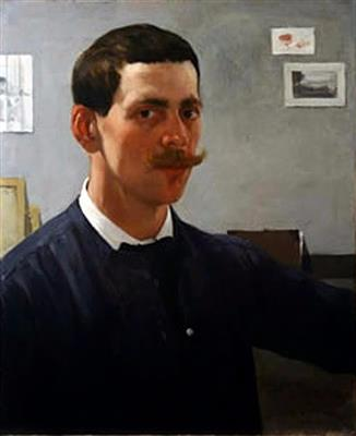 Self portrait by DeCamp
