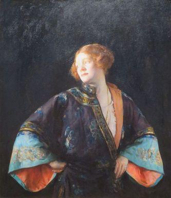 The Blue Mandarin Coat, 1922.