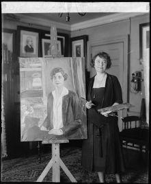 Juliet_Thomspon_painting_Grace_Coolidge_taken_February_8,_1927