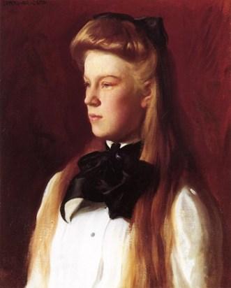 Miss Alice Boit, c. 1899.