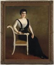 Mrs. Edith Wilson, wife of President Wilson, 1920.