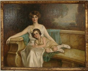 Mrs. Graves and her daughter