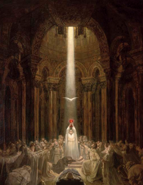 Parsifal and the Holy Grail.