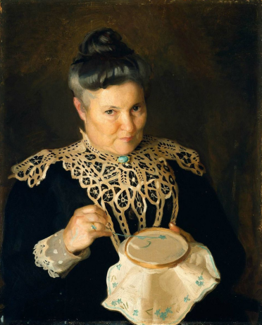 Portrait of Artist's Mother [Rose Paxton], 1902.