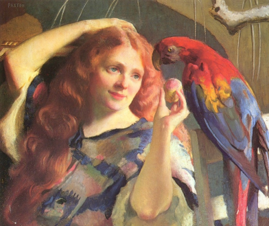 Reddy and Macaw, 1918.