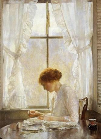 The Seamstress, 1916.