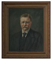 Portrait of Theodore Roosevelt, completed posthumously, 1921.