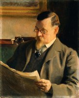 Portrait of the Artist's Father [James], 1902.