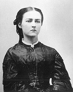 Victoria Josephine Coolidge, the President's mother