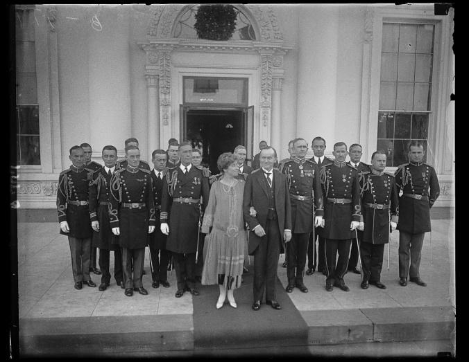 Coolidges-aides-1927