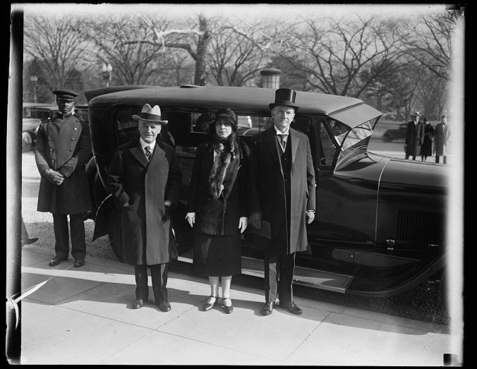 Coolidges and Morrow attend International Conference of American States December 1928