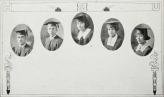 Graduating Class (1924): Norborne Bacchus, Moreno Gonzales, Ethel Jones, Ellen Maury, Louberta Moore.