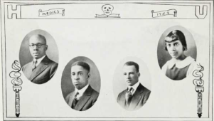 Medical School Graduates (1924): James Copeland, Daniel W. Davis, Melvin Davis, Lena Edwards