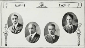 Medical School Graduates (1924): George Garnett, Quincy A. Gladden, William Goodloe, Charles M. Harris