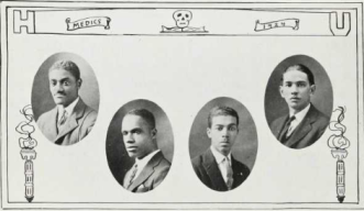 Medical School Graduates (1924): Phillip Johnson, Jesse Keene, Lewis Madison, Carter Marshall