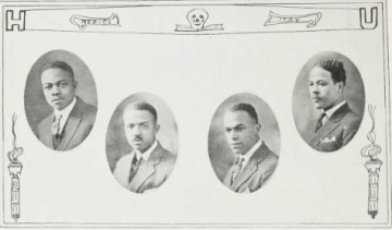 Medical School Graduates (1924): William Padgett, Russell Rice, Leo Robinson, Ogbon Simmons