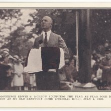 Governor Edwin P. Morrow, Kentucky