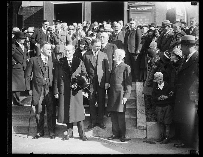 Coolidges-Thanksgiving-1928